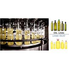 Linee complete imbottigliamento olio