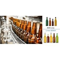 Linee complete di imbottigliamento birra
