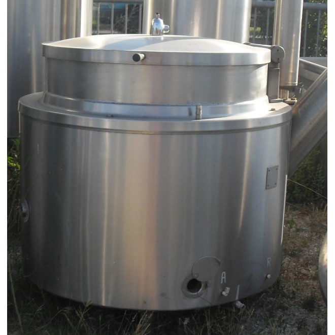 BACINELLA INOX LT.500 A GAS DIRETTO  -VENDUTA-