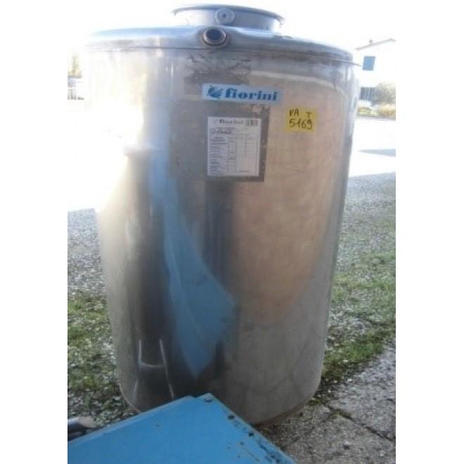 SERBATOIO VERTICALE INOX LT.500 FIORNINI