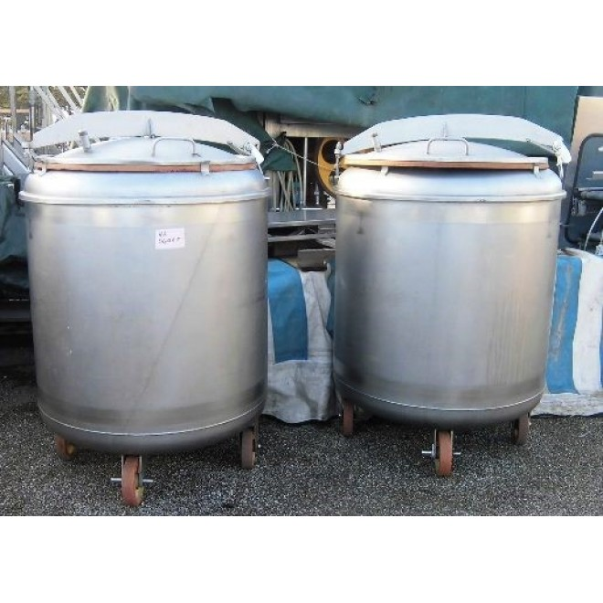 ZANGOLA INOX CARRELLATA D.800 LT.400