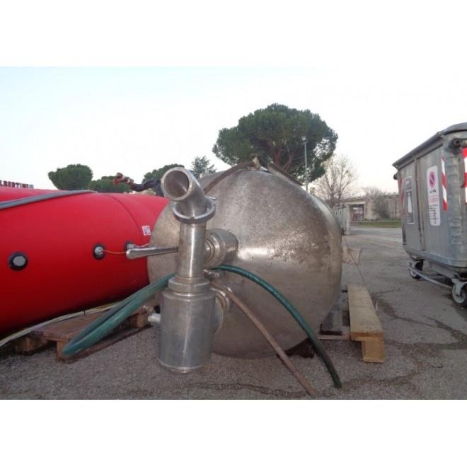 SERBATOIO POLMONE INOX DA 800LT