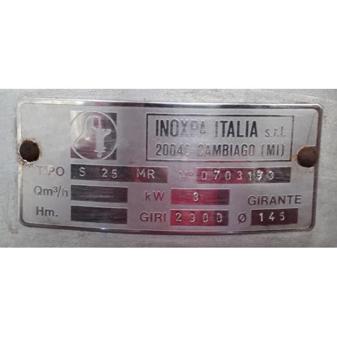 POMPA INOXPA S 25 MR NS.0703193