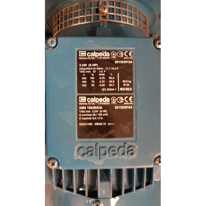 POMPA CALPEDA NM4 100/20C/A 1450/MIN